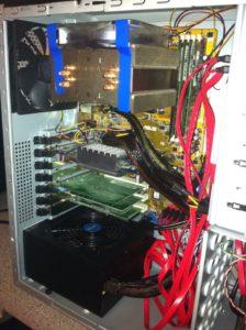 CPU-Kühler oben – Backplane oben – Netzteil unten – Cooler Master Gehäuse eine absolute Empfehlung und kostet nur 55 Euro