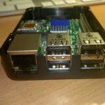 Short Crust Plus Case für den Raspberry PI B+