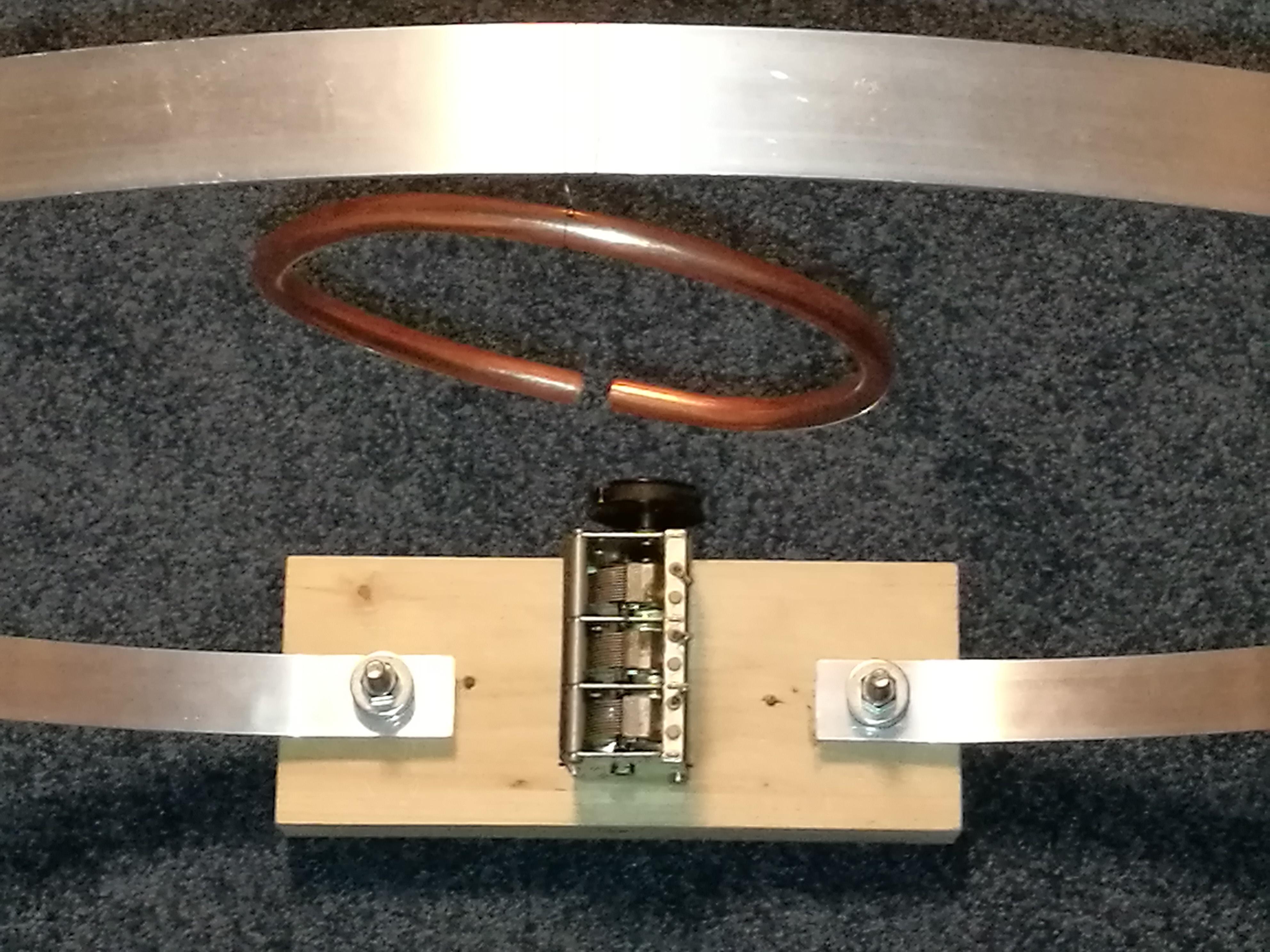 eigenbau magnetic loop antenne f r sdr radio auf kurzwelle. Black Bedroom Furniture Sets. Home Design Ideas