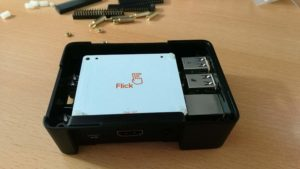 Flick Board für Raspberry Pi