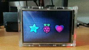 Framebuffer Anzeige Raspberry Pi