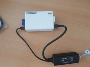 Raspberry Pi 2 mit PoE