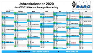 OV C19 Kalender