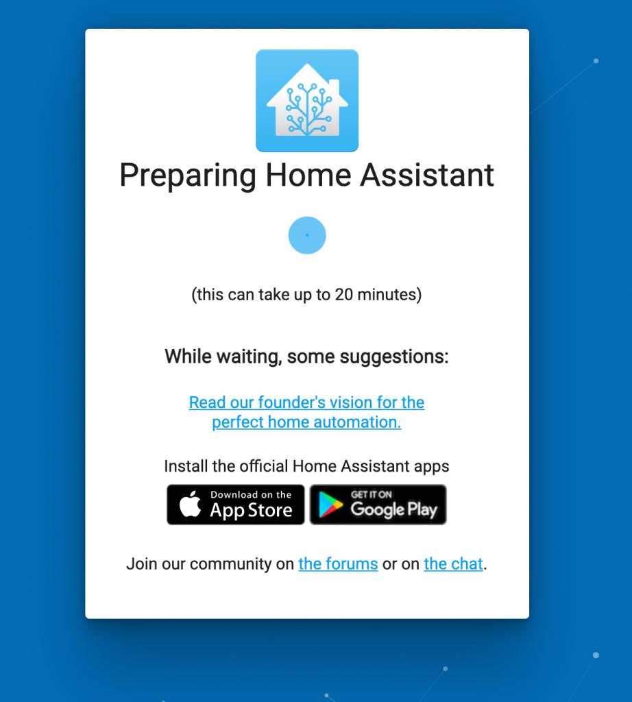 Home Assistant Startbildschirm